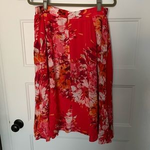 Old Navy Floral Skirt Size L